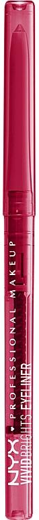 Automatic Eye Pencil - NYX Professional Makeup Vivid Brights Eyeliner Pride Edition