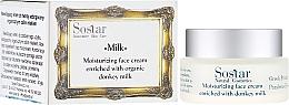 Fragrances, Perfumes, Cosmetics Moisturizing Face Cream - Sostar Moisturizing Face Cream Enriched With Donkey Milk