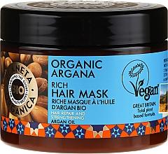 Fragrances, Perfumes, Cosmetics Repair Hair Mask - Planeta Organica Organic Argana Rich Hair Mask