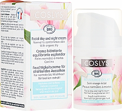 Fragrances, Perfumes, Cosmetics Lily Extract Day Face Cream for Normal and Combination Skin - Coslys Facial Care Facial Day CreamWith Lily Extract