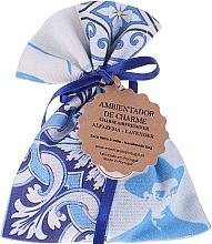 Fragrances, Perfumes, Cosmetics Fragrant Pouch, white-blue, lavender - Essencias De Portugal Tradition Charm Air Freshener