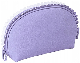 "Fragrances, Perfumes, Cosmetics Makeup Bag ""Frill"", 96266, purple - Top Choice"