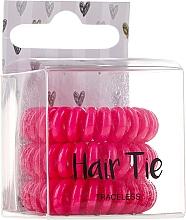 Fragrances, Perfumes, Cosmetics Elastic Hair Bands, pink - Cosmetic 2K Hair Tie Pink