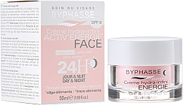 Fragrances, Perfumes, Cosmetics Moisturizing Cream 24 Hours - Byphasse Cream Hydra-Infini Energie SPF8