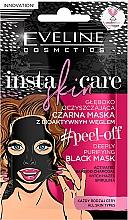 Fragrances, Perfumes, Cosmetics Cleansing Facial Black Peel-Off Mask - Eveline Cosmetics Insta Skin Care #Peel Off
