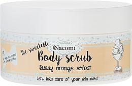 "Fragrances, Perfumes, Cosmetics Body Scrub ""Orange Sorbet"" - Nacomi Sunny Orange Sorbet Body Scrub"