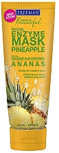 "Fragrances, Perfumes, Cosmetics Enzyme Face Mask ""Pineapple"" - Freeman Feeling Beautiful Pineapple Enzyme Mask"