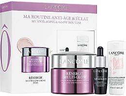 Fragrances, Perfumes, Cosmetics Set - Lancome Renergie Multi-Glow Routine Set (cr/50ml + ser/7ml + milk/50ml)