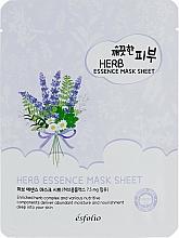 Fragrances, Perfumes, Cosmetics Herbal Sheet Mask - Esfolio Pure Skin Essence Herb Mask Sheet