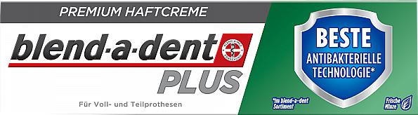 Dentures Adhesive Cream - Blend-A-Dent Premium Adhesive Cream Plus Dual Protection Fresh