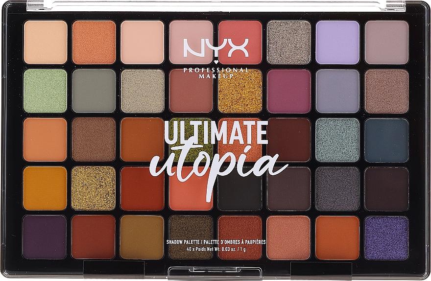 Eyeshadow Palette - NYX Ultimate Utopia Shadow Palette Summer 2020