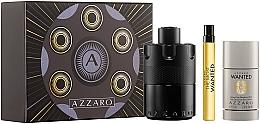 Fragrances, Perfumes, Cosmetics Azzaro The Most Wanted - Set (edp/100ml + deo/75ml + edp/10ml)
