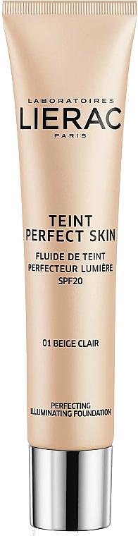 Foundation Fluid - Lierac Teint Perfect Skin Illuminating Fluid Spf 20