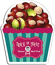 Fragrances, Perfumes, Cosmetics Facial Sheet Mask - Dr Mola Trick Or Treat Chestnut Sheet Mask