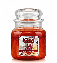 Fragrances, Perfumes, Cosmetics Scented Candle - Country Candle Winter Sangria