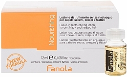 Fragrances, Perfumes, Cosmetics Restructuring Ampoules for Dry Hair - Fanola Leave-In Restructuring Lotion