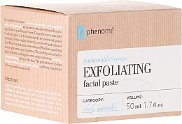 Fragrances, Perfumes, Cosmetics Face Peeling-Paste - Phenome Exfoliating Facial Pasta