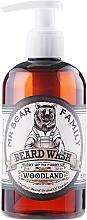Fragrances, Perfumes, Cosmetics Beard Shampoo - Mr. Bear Family Beard Wash Woodland