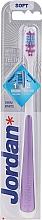 Fragrances, Perfumes, Cosmetics Toothbrush, soft, purple - Jordan Shiny White Toothbrush Soft
