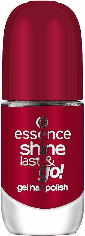 Gel-Effect Nail Polish - Essence Shine Last & Go! Gel Nail Polish