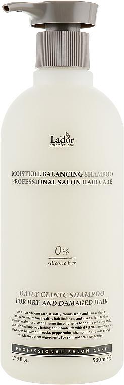 Silicone-Free Moisturizing Shampoo - La'dor Moisture Balancing Shampoo