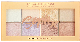 Fragrances, Perfumes, Cosmetics Face Highlighter Palette - Makeup Revolution Soph Highlighter Palette