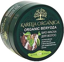 "Fragrances, Perfumes, Cosmetics Bio Hair Mask ""Organic Beryoza"", intensive strengthening & repair - Fratti HB Karelia Organica"