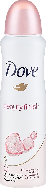 Deodorant-Antiperspirant - Dove Beauty Finish Deo Spray