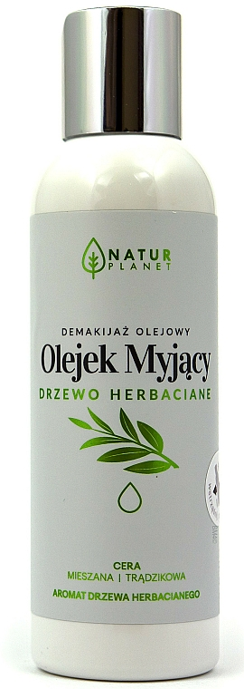 Cleansing Face Oil - Natur Planet Washing Oil Tea Tree