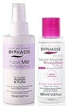 Fragrances, Perfumes, Cosmetics Set - Byphasse Micellar Make-up Remover Set(micelar/water/100/ml+spray/face/150/ml)