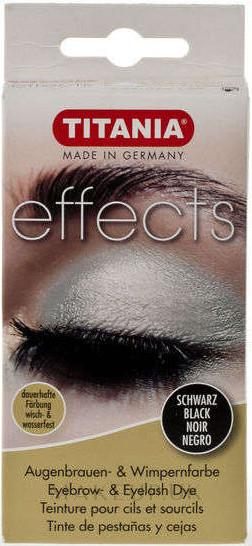 Eyebrow & Eyelash Dye - Titania Eyebrow & Eyelash Dye — photo Black