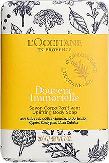 Soap - L'Occitane Douceur Immortelle Uplifting Body Soap — photo N1