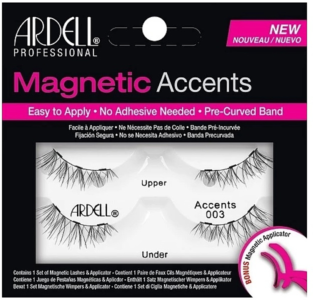 False Lashes - Ardell Magnetic Lashes Accent 003