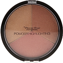 Fragrances, Perfumes, Cosmetics Highlighter Palette - Pierre Rene Highlighting Powder Palette