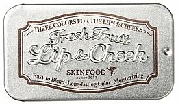 Fragrances, Perfumes, Cosmetics 2-in-1 Balm - Skinfood Fresh Fruit Lip & Cheek Trio