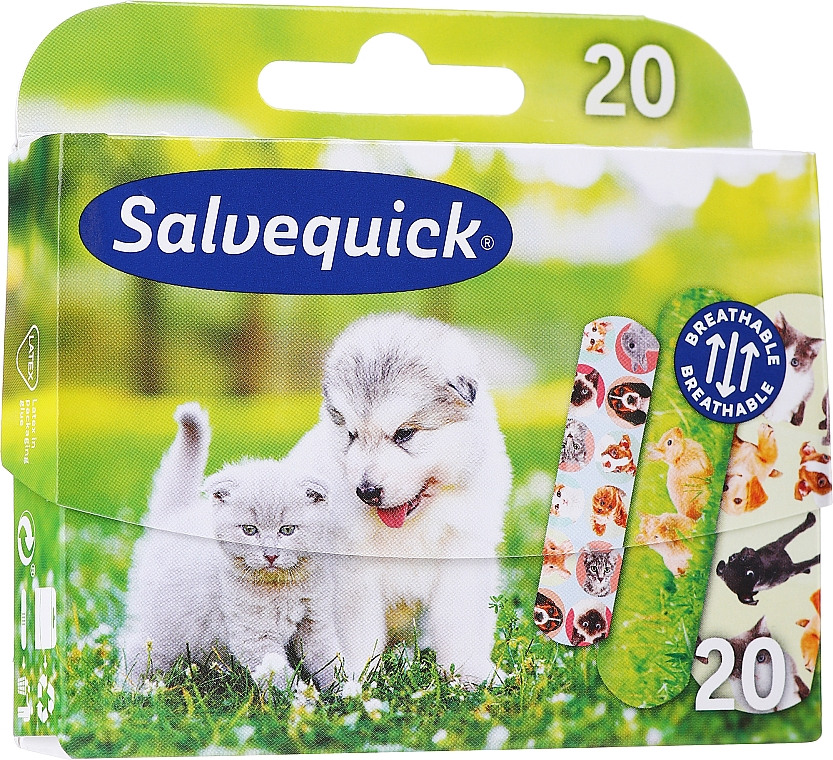 Kids Plasters - Salvequick Animal Planet