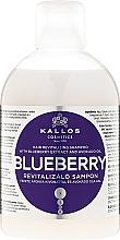 Fragrances, Perfumes, Cosmetics Reviving Blueberry Extract Shampoo - Kallos Cosmetics Blueberry Hair Shampoo