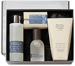 Fragrances, Perfumes, Cosmetics Bath House Bergamot & Amber - Set (edc/100ml + sh/gel/260ml + f/cr/100ml + soap/150g)