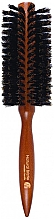 Fragrances, Perfumes, Cosmetics Round Hair Brush,498952, 50 mm - Inter-Vion Natural Wood