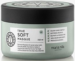 Fragrances, Perfumes, Cosmetics Hydrating Hair Mask - Maria Nila True Soft Masque