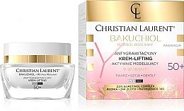 Fragrances, Perfumes, Cosmetics Active Lifting Face Cream 50+ - Christian Laurent Bakuchiol Retinol Y-Reshape Lifting Cream
