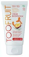 "Fragrances, Perfumes, Cosmetics Body Cream ""Peach and Apricot"" - TOOFRUIT Cream Body Doux"