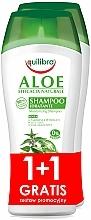 Fragrances, Perfumes, Cosmetics Set - Equilibra Aloe (shm/2x250ml)