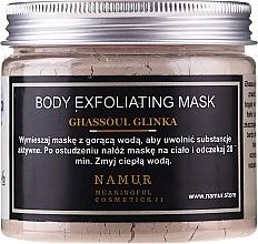 Fragrances, Perfumes, Cosmetics Ghassoul Clay Body Mask - Namur Body Exfoliating Ghassoul Clay