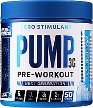 Fragrances, Perfumes, Cosmetics Muscle Performance & Blood Flow Pre-Workout Treatment with Blend Of 12 Substances - Applied Nutrition Preworkout Icy Blue Raz