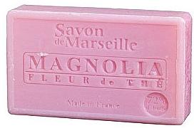 """Natural Soap """"Magnolia and Tea"""" - Le Chatelard 1802 Soap Magnolia and Tea Flowers"""