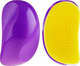 Hair Brush, 63930, purple-yellow - Top Choice — photo N1