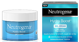Fragrances, Perfumes, Cosmetics Moisturizing Face Cream-Gel - Neutrogena Hydro Boost Gel Cream Moisturiser