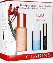 Fragrances, Perfumes, Cosmetics Set - Clarins Extra-Firming Yeux Set (eye/ser/15ml+makeup/remover/30ml+mascara/3ml)
