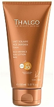 Fragrances, Perfumes, Cosmetics Rejuvenating Sun Lotion - Thalgo Age Defence Sun Lotion SPF 30